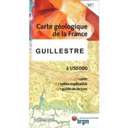 Carte géologique à 1/50000...